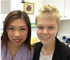 Jack and Dr Sih at Bondi Dental   Dentist Bondi