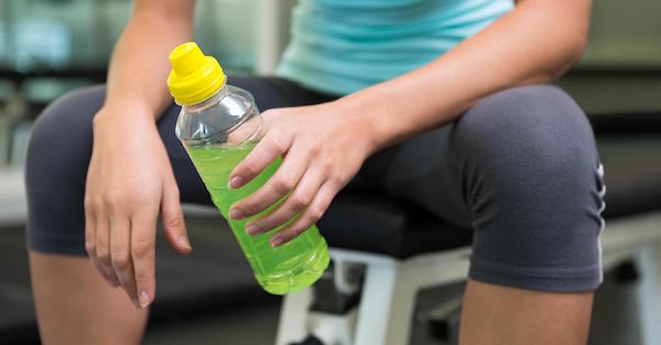 Keep Your Teeth, Avoid Sports Drinks