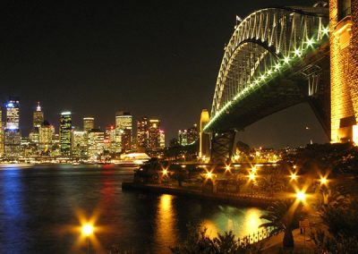 Sydney Harbour Bridge Night