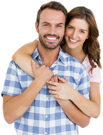 Happy White Teeth Couple | Dentist Bondi