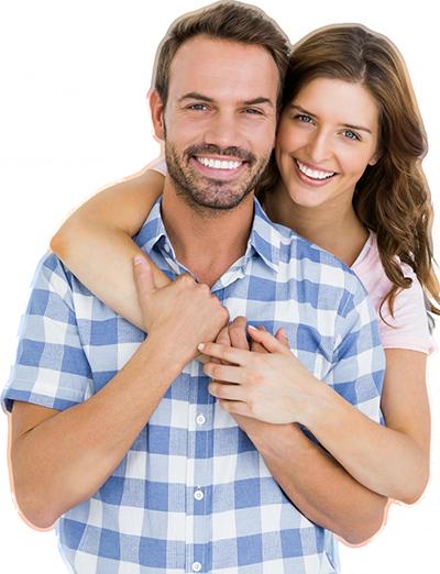 Happy White Teeth Couple | Dentist Bondi