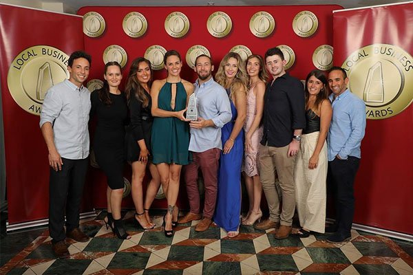 Bondi Dental Team Photo in Local Business Awards 2018