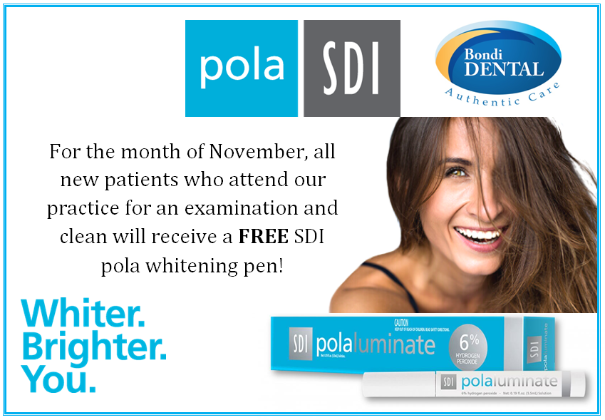 FREE SDI Pola Teeth Whitening Pen