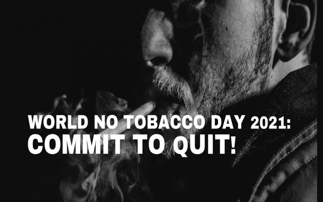 World No Tobacco Day 2021 in Bondi: Commit to Quit!