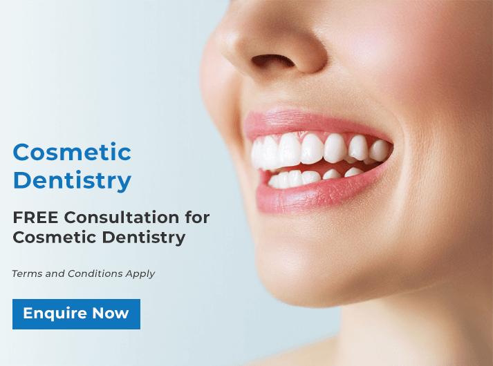 cosmetic dentistry promo banner bondi