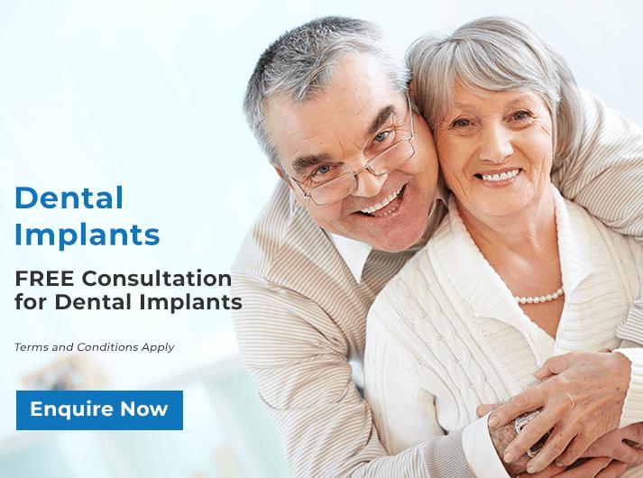 dental implants promo banner bondi